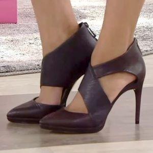 New BCBGMaxAzria Black Heels Pumps Sz 7.5 Fit 8